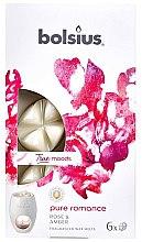 "Profumi e cosmetici Cera profumata ""Rosa e ambra"" - Bolsius True Moods Pure Romance Rose & Amber"
