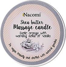 """Profumi e cosmetici Candela da massaggio con burro di karité """"Arancio e vaniglia"""" - Nacomi Shea Butter Massage Candle"""