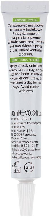 Gel antibatterico viso - Pharmaceris T Medi Acne-Pointgel Spot Treatment Gel — foto N2
