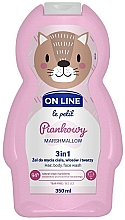 Profumi e cosmetici Bagnodoccia per bambini - On Line Le Petit Marshmallow 3 In 1 Hair Body Face Wash
