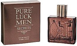 Profumi e cosmetici Linn Young Pure Luck Men Secrets - Eau de toilette
