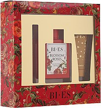 Profumi e cosmetici Bi-Es Blossom Roses - Zestaw (edp/100 ml + sh/gel/50ml + parf/12ml)