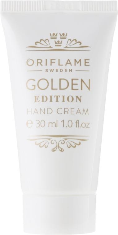 Crema mani - Oriflame Golden Edition Hand Cream — foto N1