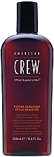 Profumi e cosmetici Shampoo quotidiano per pulizia profonda - American Crew Power Cleanser Style Remover