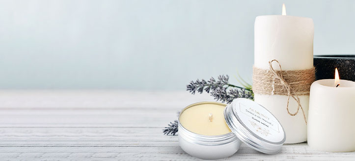 -20% di sconto sulle candele naturali da massaggio Almond Cosmetics. I prezzi sul nostro sito comprendono gli sconti
