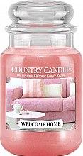 Profumi e cosmetici Candela profumata in vetro - Country Candle Welcome Home