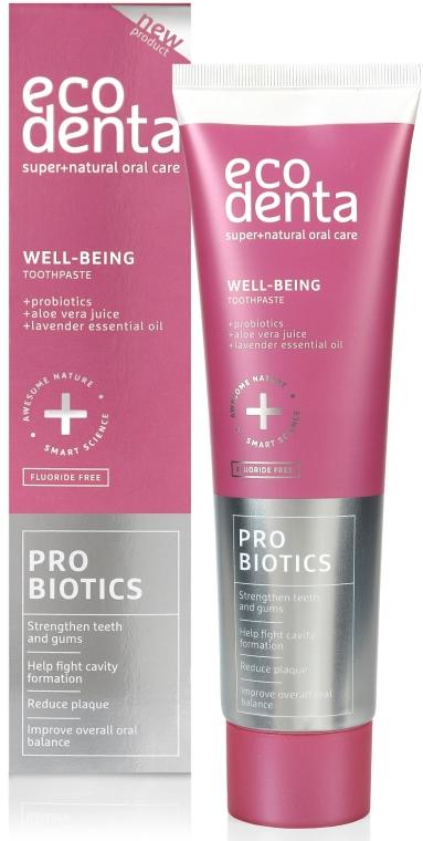 Dentifricio rinforzante con probiotici - Ecodenta Toothpaste Probiotics Well-Being