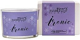 Profumi e cosmetici Candela organica - PuroBio Home Organic Ironic
