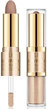 Profumi e cosmetici Illuminante-contouring viso - Milani Contour & Highlight Cream & Liquid Duo
