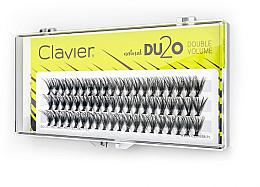 """Profumi e cosmetici Ciglia finte """"Doppio volume"""", 11 mm - Clavier DU2O Double Volume"""
