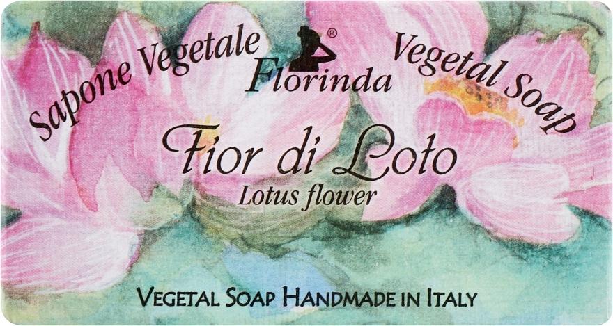 """Sapone naturale """"Fiore di loto"""" - Florinda Sapone Vegetale Vegetal Soap Lotus Flower"""