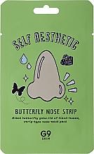 Profumi e cosmetici Patch naso contro i punti neri - G9Skin Self Aesthetic Butterfly Nose Strip