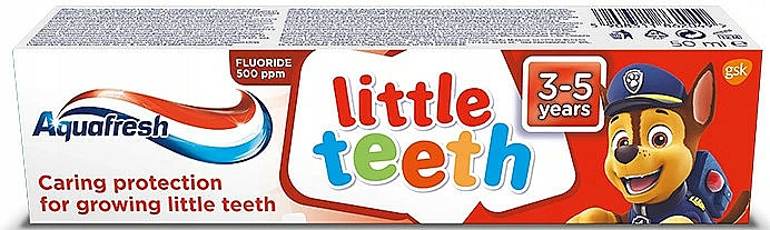 "Dentifricio ""I miei denti da latte"" - Aquafresh Kids PAW Patrol"