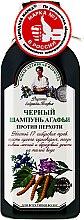 Profumi e cosmetici Shampoo nero antiforfora - Ricette di nonna Agafya