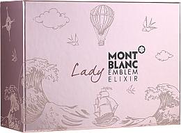 Profumi e cosmetici Montblanc Lady Emblem Elixir - Set (edp/75ml + edp/mini/7.5ml + b/l/100ml)