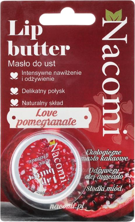 """Balsamo labbra """"Melograno"""" - Nacomi Lip Butter — foto N1"""
