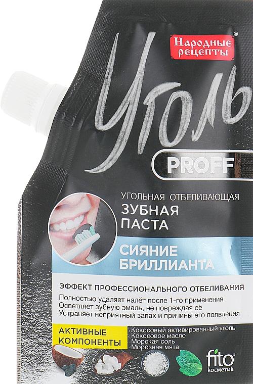 """Dentifricio sbiancante al carbone """"Diamond Shine"""" - Fito Cosmetic Carbone Proff Ricette popolari"""