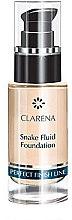 Profumi e cosmetici Fondotinta fluido - Clarena Snake Fluid Foundation