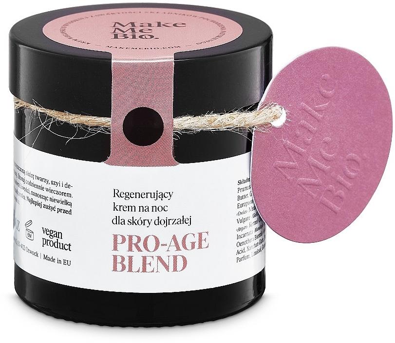 Crema rigenerantte per la pelle matura da notte - Make Me BIO Anti-Aging Night — foto N1