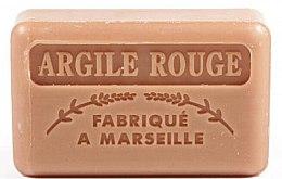 """Profumi e cosmetici Sapone di Marsiglia """"Argilla rossa"""" - Foufour Savonnette Marseillaise Argile Rouge"""