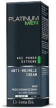Profumi e cosmetici Crema antirughe per pelli mature, per uomo - Dr Irena Eris Platinum Men Age Power Extreme Anti-wrinkle Cream
