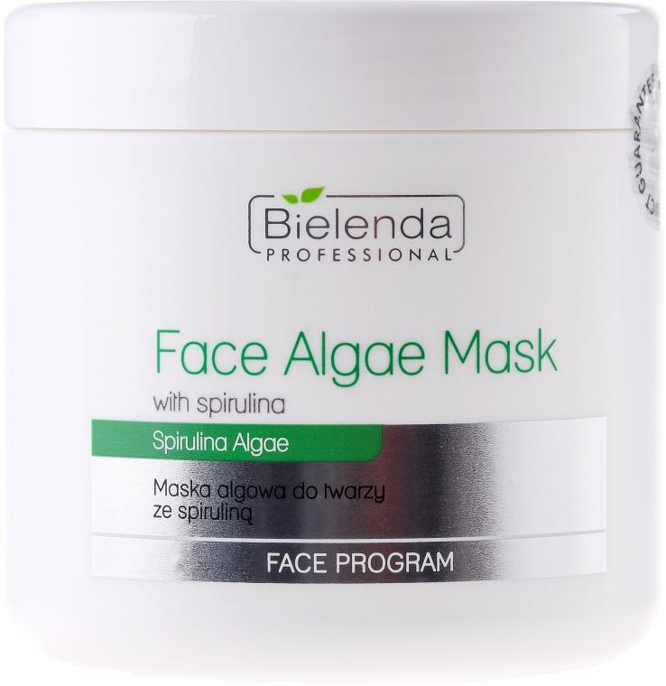 Maschera viso alginata con estratto di spirulina - Bielenda Professional Algae Spirulina Face Mask