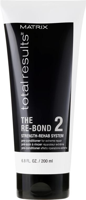 Pre-condizionante restauro capelli - Matrix Total Results The Re-Bond