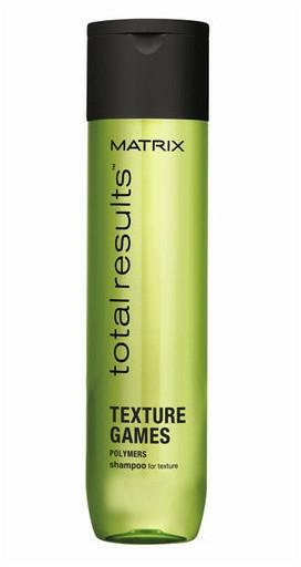 Shampoo universale, facilita lo styling dei capelli - Matrix Total Results Texture Games Shampoo