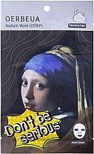 Profumi e cosmetici MAschera in tessuto, 2 Step - Oerbeua Don't Be So Serious Mask Sheet
