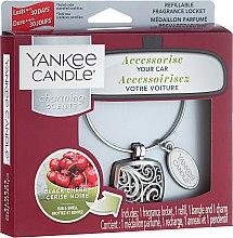 Profumi e cosmetici Profumo per auto - Yankee Candle Charming Scents Square Black Cherry