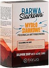 Profumi e cosmetici Sapone antibatterico solforico - Barwa Anti-Acne Sulfuric Soap