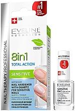 Profumi e cosmetici Smalto universale - Eveline Cosmetics Nail Therapy Professional Sensitive