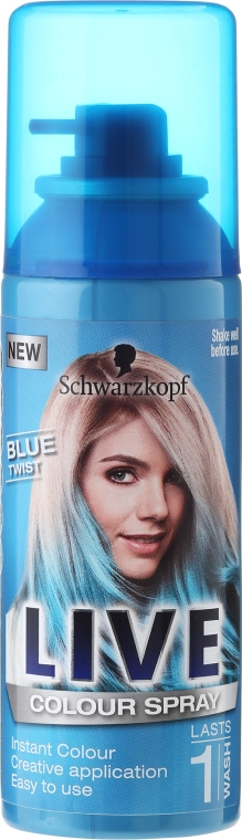 Spray colorante per capelli - Schwarzkopf Live Colour Spray