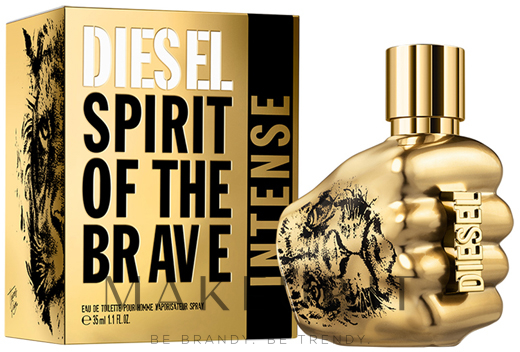 Diesel Spirit Of The Brave Intense - Eau de Parfum — foto 35 ml