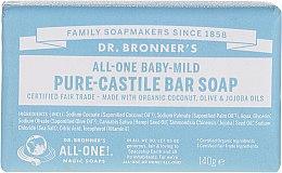 Profumi e cosmetici Sapone per bambini - Dr. Bronner's Pure Castile Bar Soap Baby-Mild