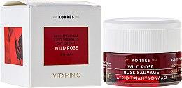 Profumi e cosmetici Crema viso per la pelle secca, da giorno - Korres Wild Rose Brightening & First Wrinkles Day Cream