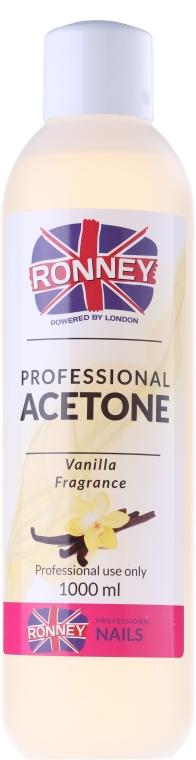 """Solvente per smalto """"Vaniglia"""" - Ronney Professional Acetone Vanilia"""