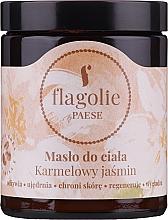 "Profumi e cosmetici Burro corpo ""Gelsomino caramellato"" - Flagolie by Paese Caramel Jasmine"
