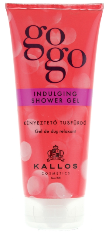 "Gel doccia ""Cura delicata"" - Kallos Cosmetics Gogo Indulging Shower Gel"