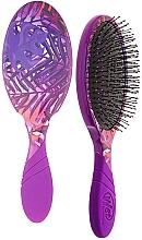 Profumi e cosmetici Spazzola per capelli - Wet Brush Pro Detangler Neon Summer Tropics Purple