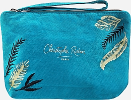 Profumi e cosmetici Set - Christophe Robin Purifying Travel Kit (shm/75ml + cr/20.7ml + scr/40ml + bag)