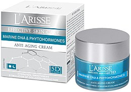 Profumi e cosmetici Crema antirughe con DNA marino e fitoormoni 60+ - Ava Laboratorium L'Arisse 5D Anti-Wrinkle Cream Marine DNA + Phytohormones