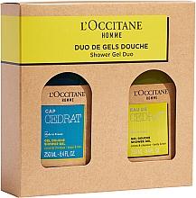 Profumi e cosmetici Set - L'Occitane Cedrat Duo Set (sh/gel/250ml + sh/gel/250ml)