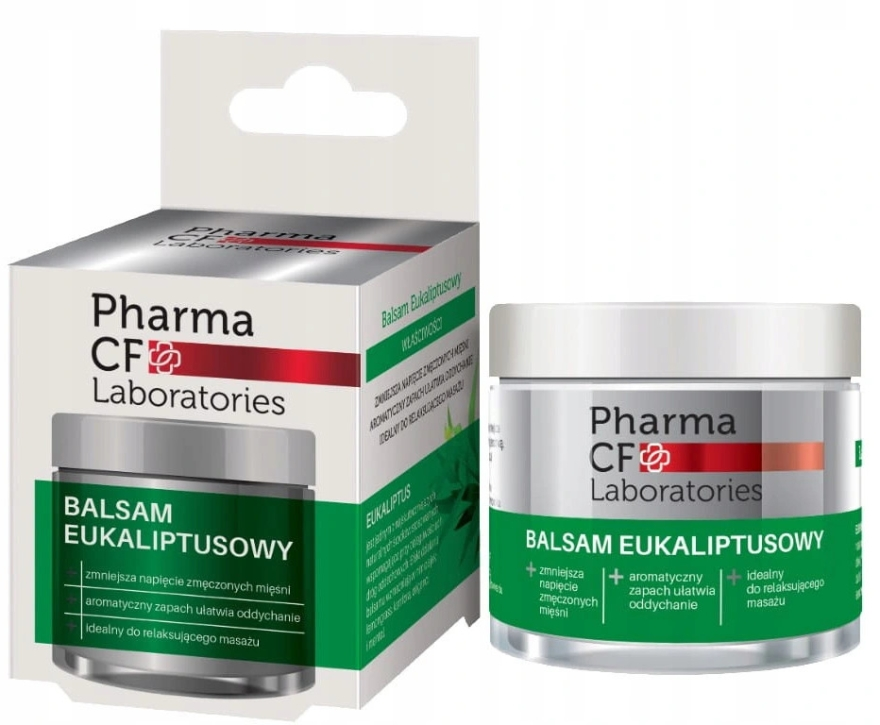 Balsamo corpo all'eucalipto - Pharma CF