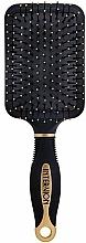 Profumi e cosmetici Spazzola pneumatica per capelli, 499250, nero e oro - Inter-Vion