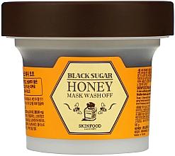 Profumi e cosmetici Maschera al miele e zucchero nero - SkinFood Black Sugar Honey Mask Wash Off