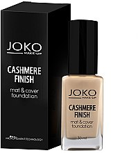 Profumi e cosmetici Fondotinta in crema - Joko Cashmere Finish Mat & Cover Foundation
