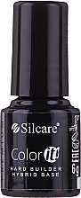 Profumi e cosmetici Base camouflage per smalti gel - Silcare Color It Premium Hardi Builder Hybrid Base