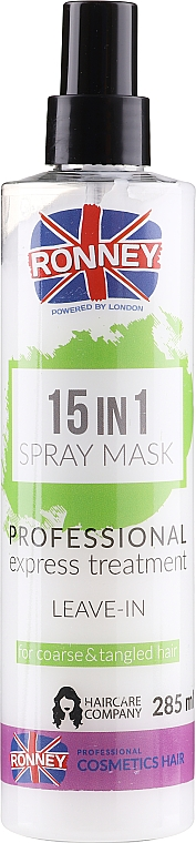 Maschera-spray capelli - Ronney 15in1 Spray Mask Professional Express Treatment Leave-In