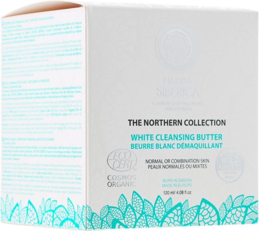 Burro detergente per pelli normali e miste - Natura Siberica The Northern Collection White Cleansing Butter